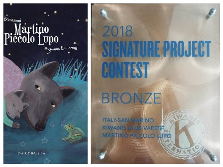 Martino Piccolo Lupo vince il Bronze al Signature Project Contest 2018